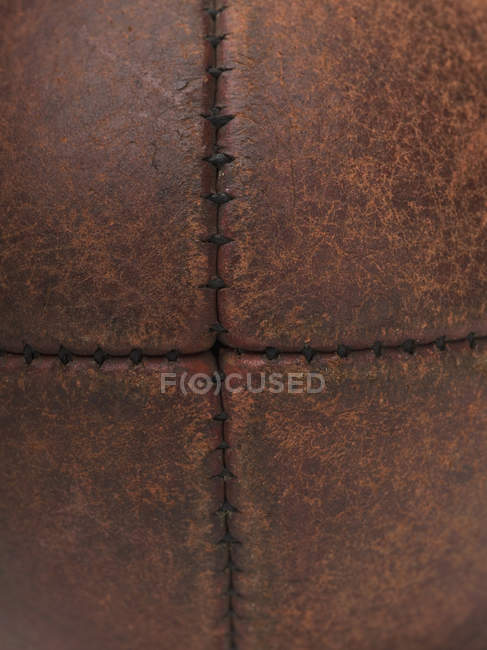 Close up view of australian rules football — Stock Photo