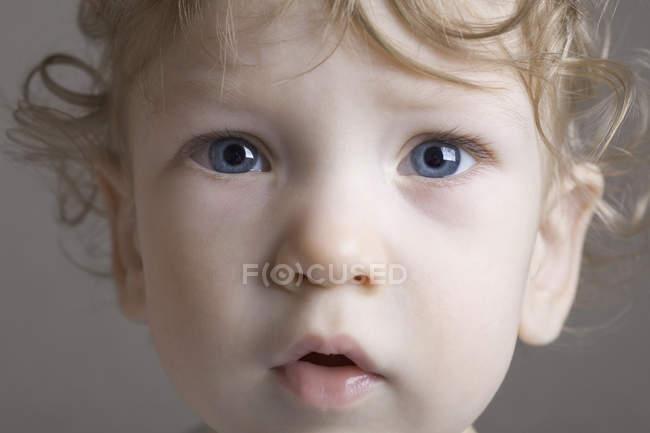 Портрет маленького мальчика — стоковое фото