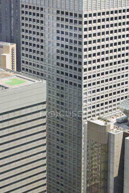 Image recadrée de Tokyo City Hall, Tokyo, Japon — Photo de stock