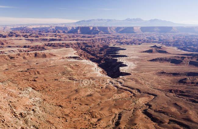 Luftaufnahme des Canyonlands National Park, Utah. — Stockfoto