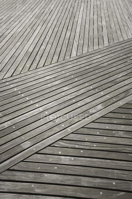 Full frame shot of wooden floor — Stock Photo