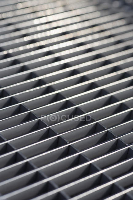 Full frame shot of metal grate — Stock Photo