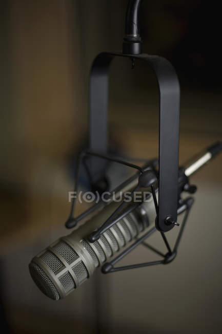 Nahaufnahme der Aufnahme Studio-Mikrofon — Stockfoto