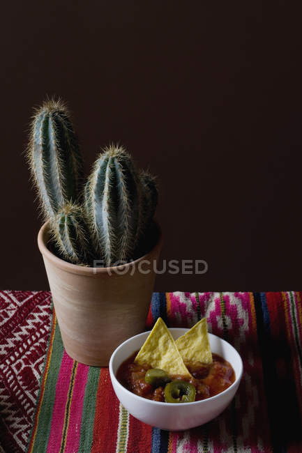 Still Life Of Stereotypical Mexican Culture Symbols Stock Photo