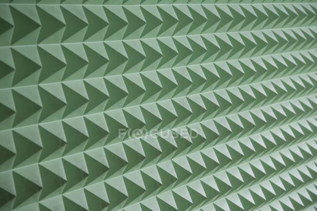 Full frame shot of geometrical green pattern — Stock Photo