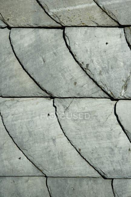 Quadro completo tiro de telhas de ardósia — Fotografia de Stock