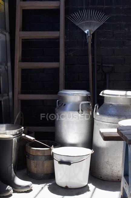Elementi di miglioramento domestico all'aperto — Foto stock