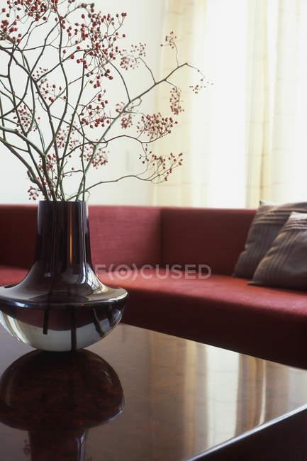Dettaglio del soggiorno moderno — Foto stock