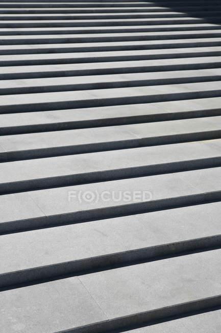Full frame shot of outdoors steps — Stock Photo