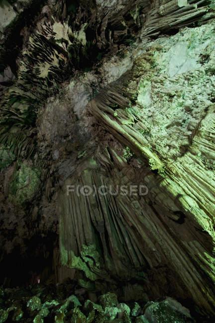 Полный кадр выстрел Dictaean пещеры скалы — стоковое фото
