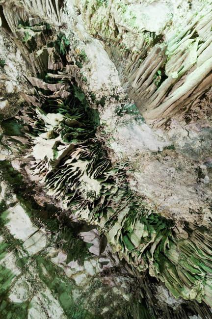 Непосредственно над видом Dictaean пещеры — стоковое фото