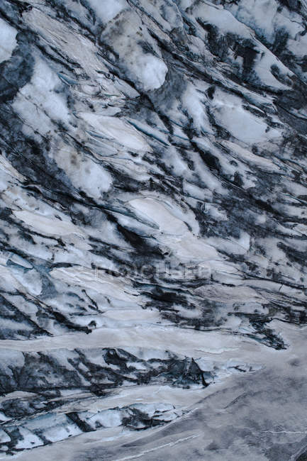 Full frame shot of rock formation's surface — Stock Photo
