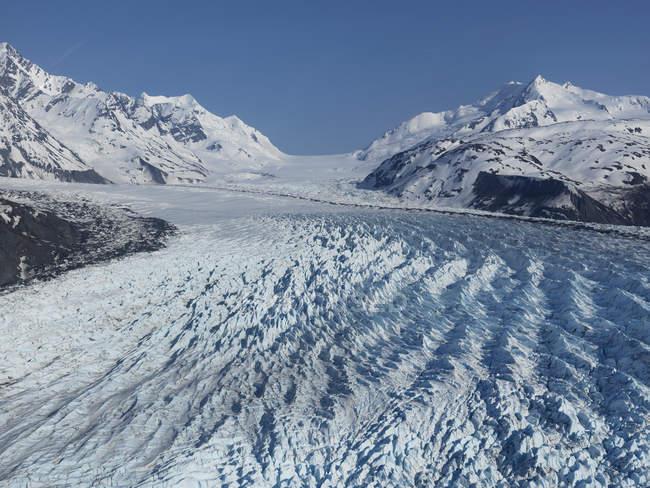 Colonia nieve glaciar, Valle de Knik, Anchorage, Alaska, Estados Unidos - foto de stock