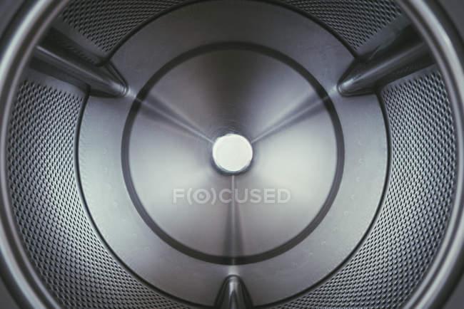 Деталь внутри стиральной машины — стоковое фото