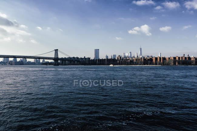 Vista panorámica de la ciudad de Nueva York, Nueva York, Estados Unidos - foto de stock