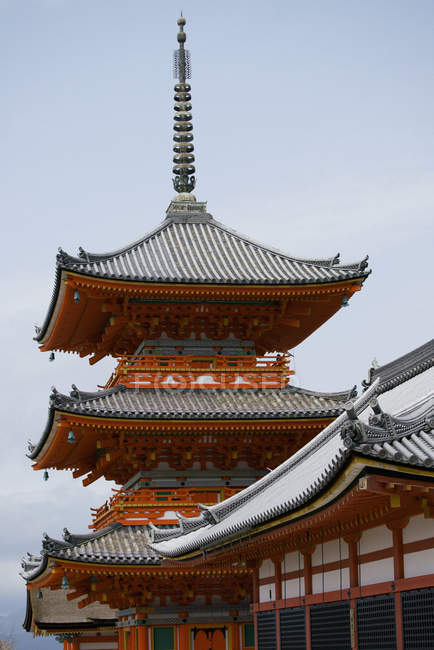 Temple de Kiyomizu-dera, Kyoto, Japon — Photo de stock