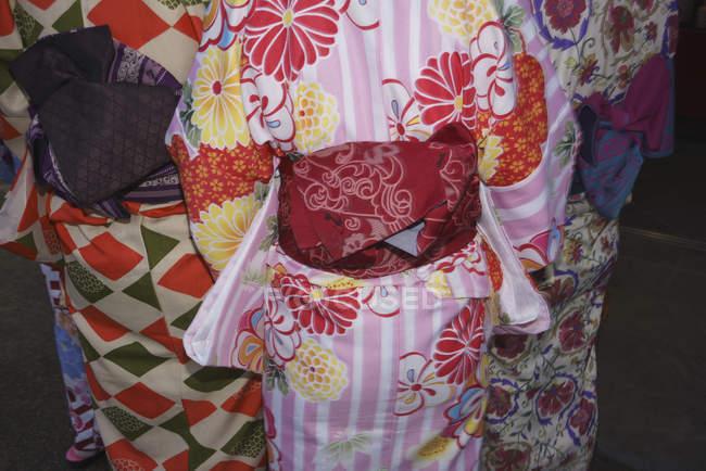 Гайвін носить багатобарвної кімнос, Кіото, Японія — стокове фото