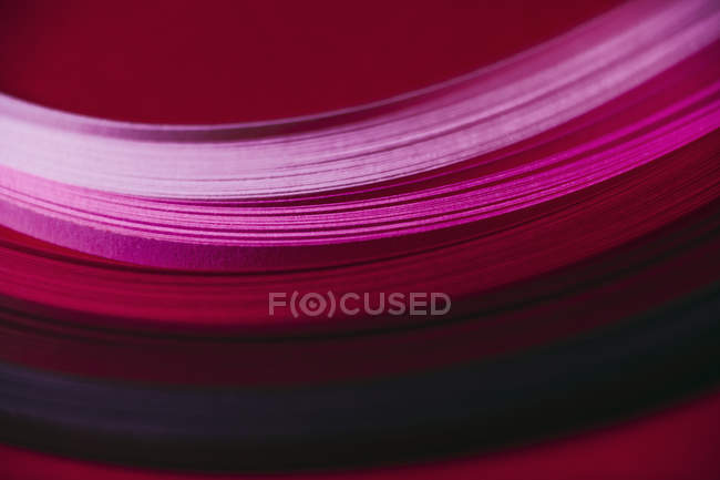 Abstract pink and red paper wave pattern — Stock Photo