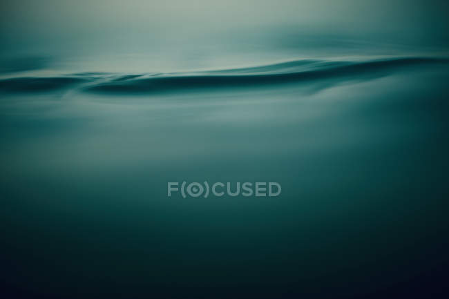 Tranquil blue water ripple — Stock Photo
