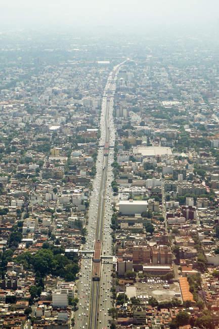 Вид з повітря на Мехіко (Мексика) — стокове фото