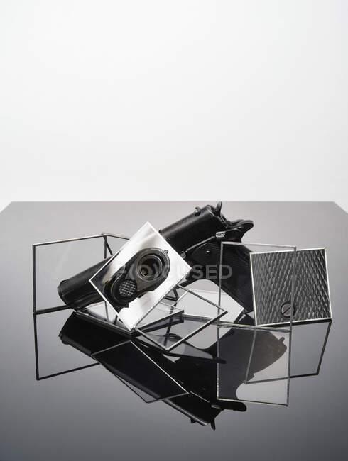 Natureza morta abstrato de arma — Fotografia de Stock