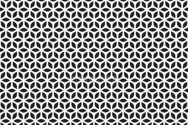 Padrão preto e branco — Fotografia de Stock