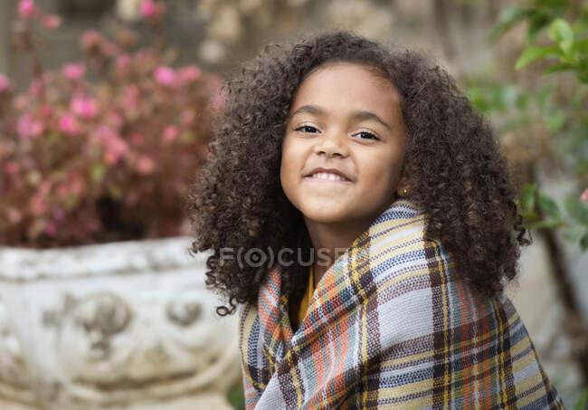 Портретна впевненість дівчина у слизовій оболонці — стокове фото
