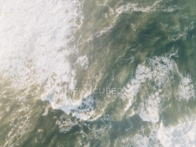 Top view of ocean water — Stock Photo