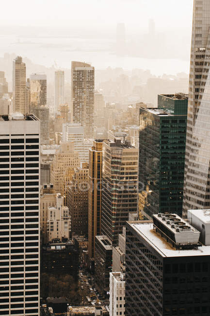 Високі будівлі, Нью - Йорк, Нью - Йорк, США — стокове фото