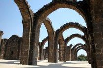 Arched construction of Bara Kaman, Bijapur, Karnataka, India, Asia. — Stock Photo