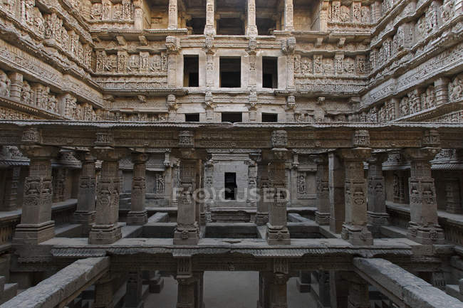 Ancient indian temple — Stock Photo
