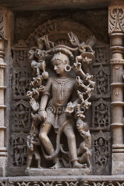 Sculpture for indian god — Stock Photo