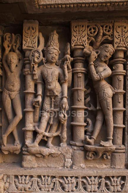 Vue de la sculpture pour les dieux — Photo de stock