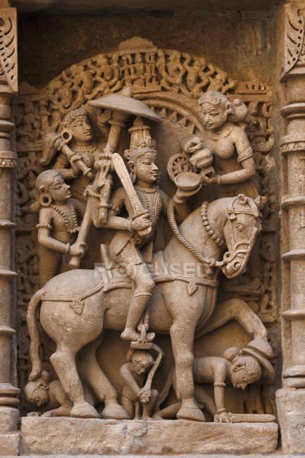 Dieux indiens au temple — Photo de stock