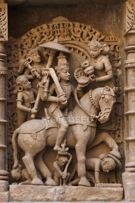 Indian gods at temple — Stock Photo