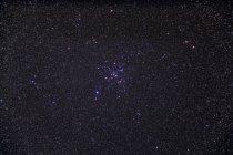 Starscape с рассеянное скопление ниже Сириус — стоковое фото