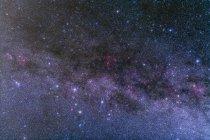 Nebulosidad en constelaciones Casiopea y Cefeo - foto de stock