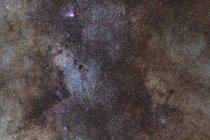 Paesaggio stellare con nube stellare del Sagittario — Foto stock
