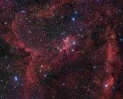 Nebulosa di cuore nella costellazione di Cassiopea — Foto stock