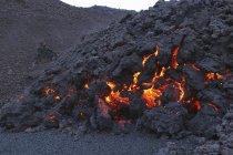 Fimmvorduhals lava flow — Stock Photo