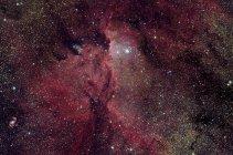 Nebulosa de emisión NGC6188 en constelación de Ara - foto de stock