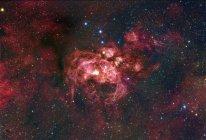 NGC6357 nebulosa en constelación Escorpio - foto de stock