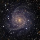 IC342 spiral galaxy in constellation Camelopardalis — Stock Photo
