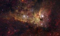 NGC3372 nebulosa en constelación Carina - foto de stock