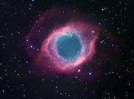 Nebulosa Helix en la constelación Acuario - foto de stock