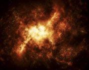 Nebulosa colorida masiva - foto de stock