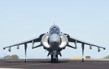 15 settembre 2016. Harrier Av-8b della Marina spagnola a Rota Naval Air Station, Spagna — Foto stock