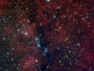 Отражающая туманность NGC 6914 в лебедя в высоком разрешении — стоковое фото