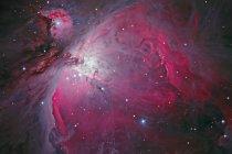 Nebulosa Messier 42 Orion en colores verdaderos en alta resolución - foto de stock