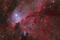 Schiacciatura nebulosa Ngc 6188 nella costellazione dell ' altare in alta risoluzione — Foto stock